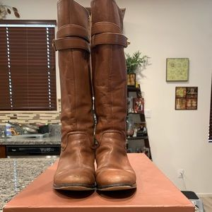 Coach Brown Boots Size 6